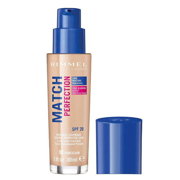 Rimmel Match Perfection Foundation SPF20 30ml - The Golden Galleria