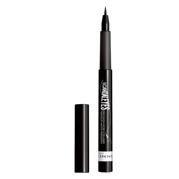 Rimmel ScandalEyes Micro Eyeliner 1.1ml 001 Black - The Golden Galleria
