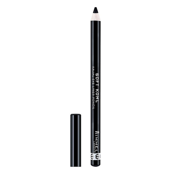 Rimmel Soft Khol Pencil 1.2g Black - The Golden Galleria
