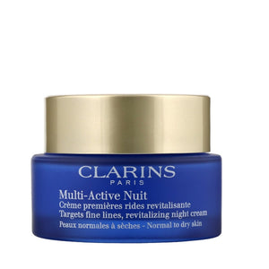 Clarins Multi Active Nuit Revitalizing Night Cream 50ml - The Golden Galleria