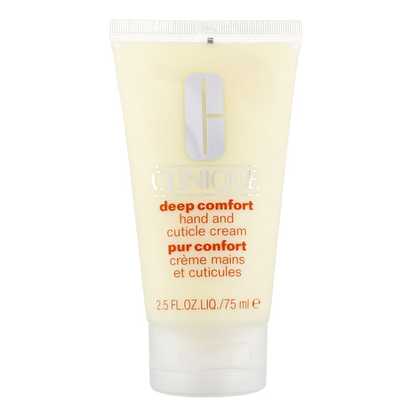 Clinique Deep Comfort Hand & Cuticle Cream 75ml - The Golden Galleria
