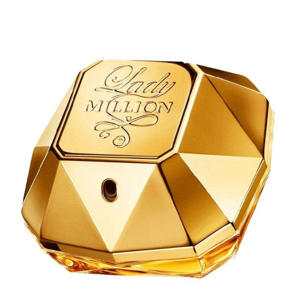 Paco Rabanne Lady Million Absolutely Gold Pure Perfume 80ml Spray - The Golden Galleria