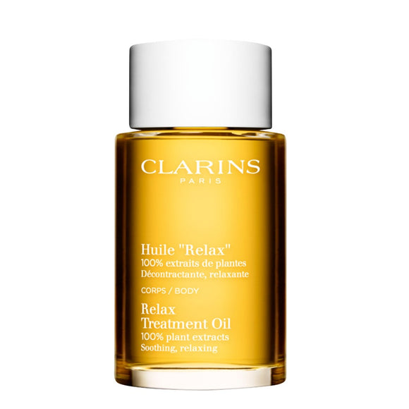 Clarins Relax Body Treatment Oil Soothing/Relaxing 100ml - The Golden Galleria