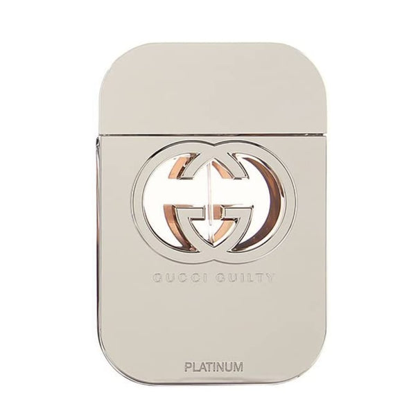 Gucci Guilty Platinum Eau de Toilette 75ml Spray - The Golden Galleria