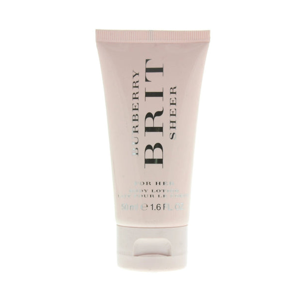 Burberry Brit Sheer Body Lotion 50ml - The Golden Galleria