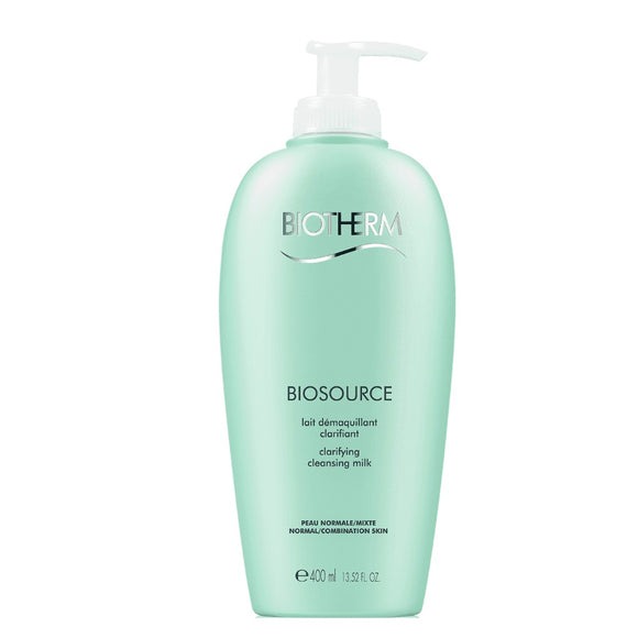Biotherm Biosource Clarifying Cleansing Milk 400ml Normal/ Combination - The Golden Galleria