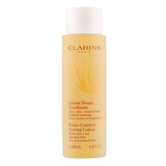 Clarins Extra Comfort Toning Lotion Dry/Sensitive Skin 200ml - The Golden Galleria