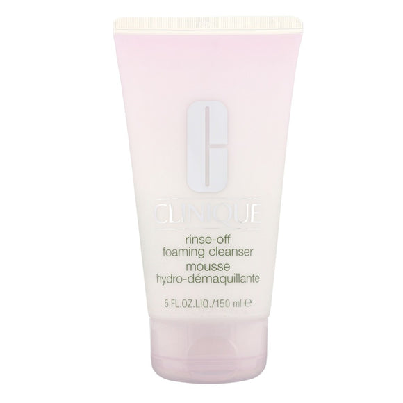Clinique Cleansing Range Rinse Off Foaming Cleanser 150ml - The Golden Galleria