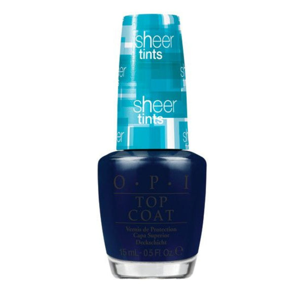 OPI Sheer Tints Nail Polish 15ml  I Can Teal You Like Me - The Golden Galleria