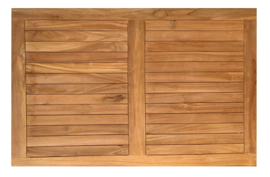 Terrastafelblad TEAK rectangle