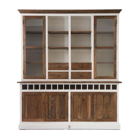 RM Driftwood cabinet with winerack Double