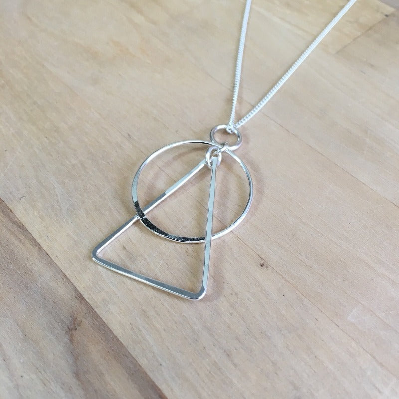 necklace, pendant, gift, sterling, silver, jewelry, handmade, forged