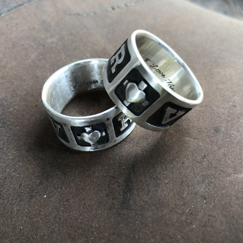 Custom Romeo & Juliette Rings