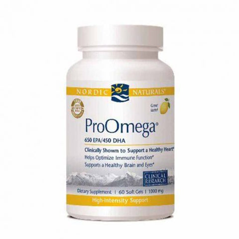 Supplement for Nordic Naturals ProOmega