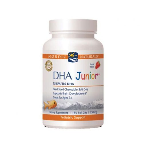Nordic Natural DHA Junior Strawberry