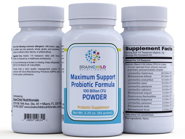 Maximum Support Probiotic Powder (2 oz)