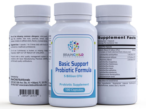 Basic Support Probiotic 100 Capsules