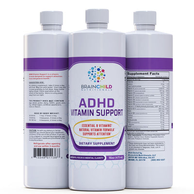 Supplement for ADHD Vitamin Support
