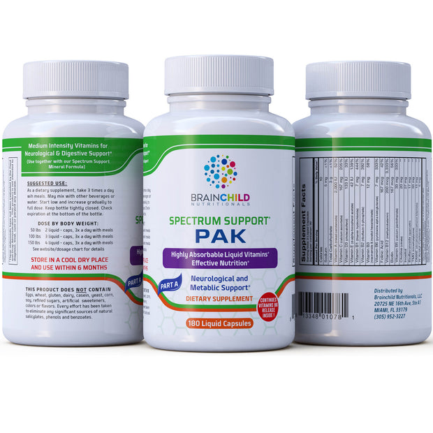 Spectrum Support II (PAK) Vitamins