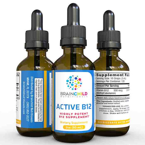 Supplement for Active B-12