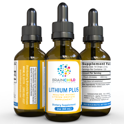 Supplement for Lithium Plus