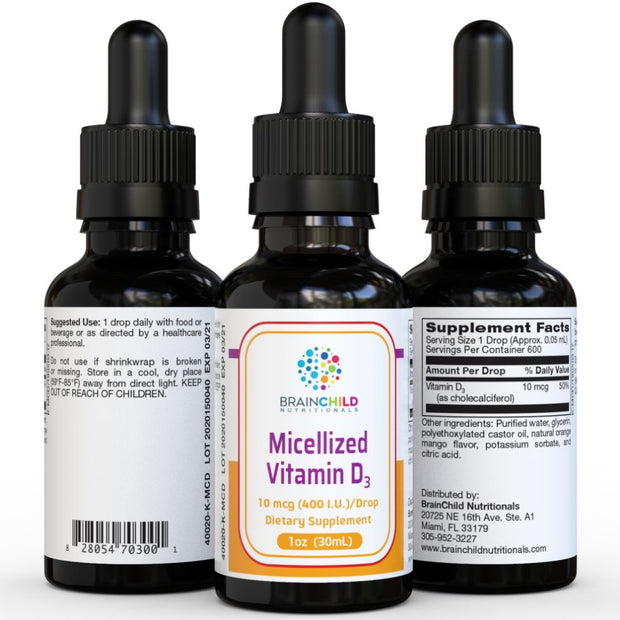 Micellized Liquid Vitamin D