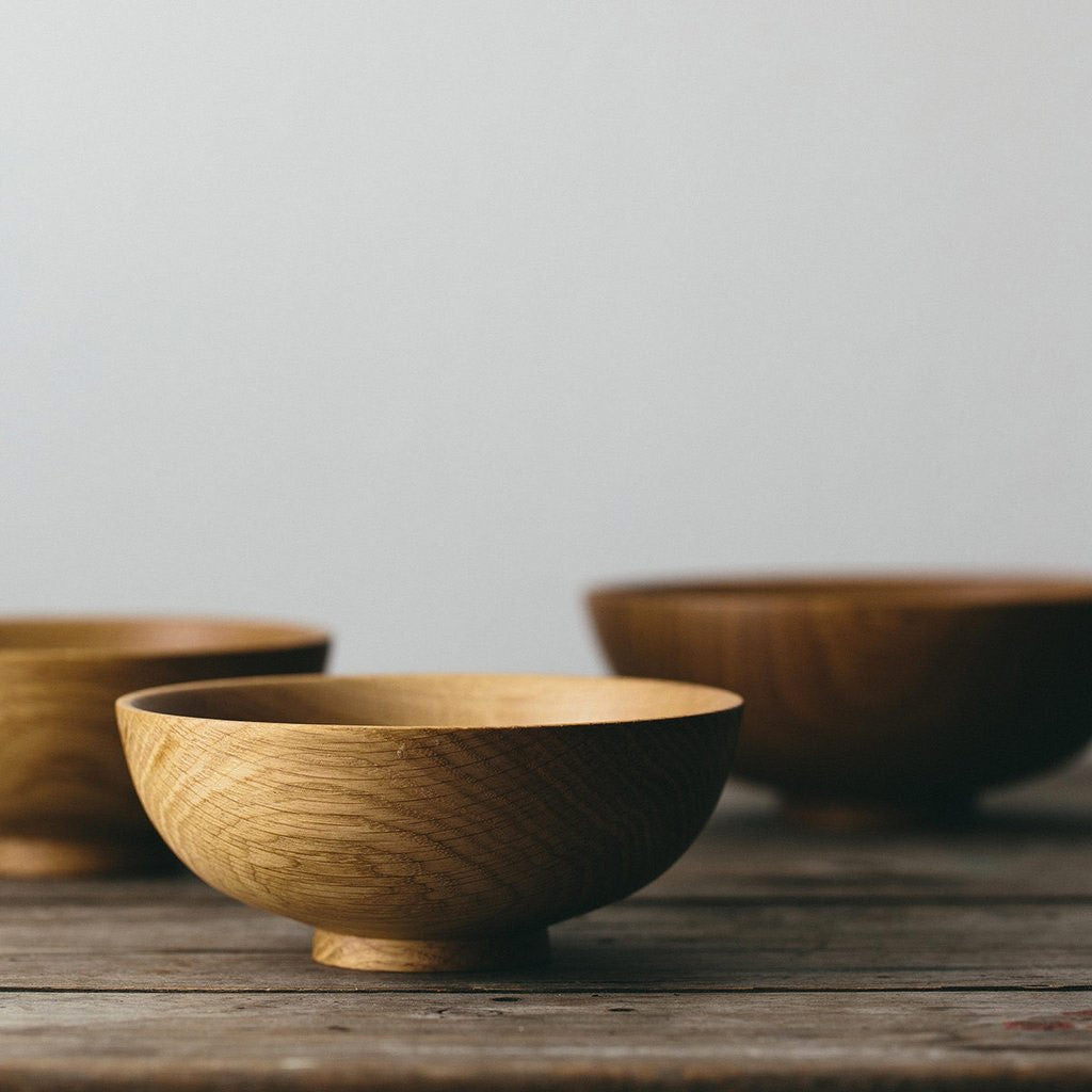 English Oak Bowl