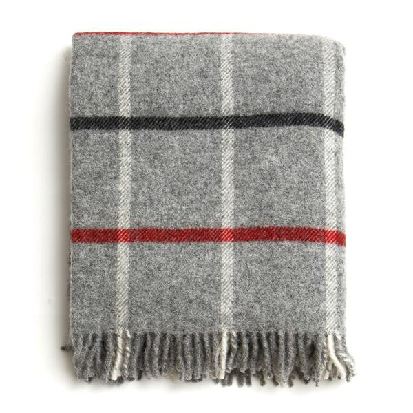 British Made 100% Wool Cabin Blanket