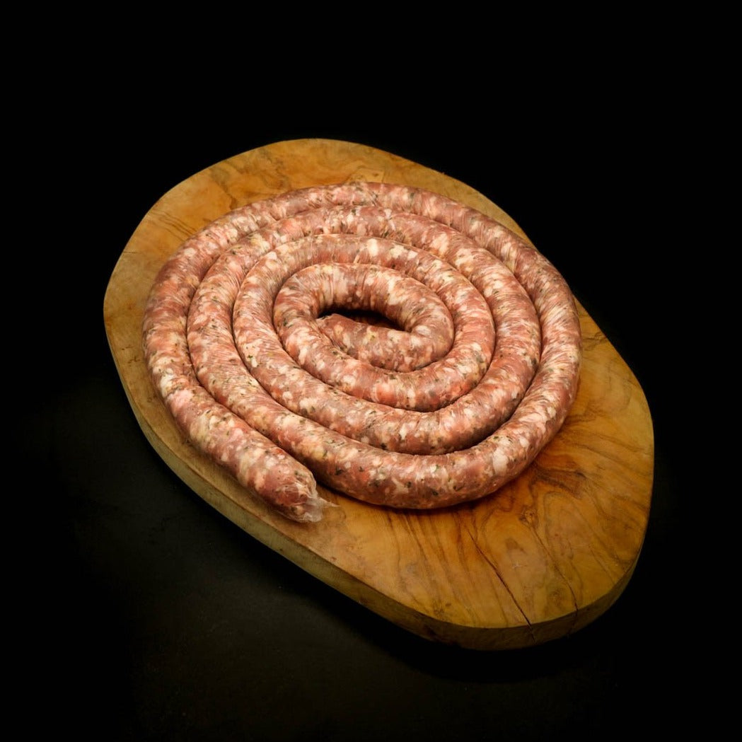 Cheese & Parsley Thin Rope Sausage