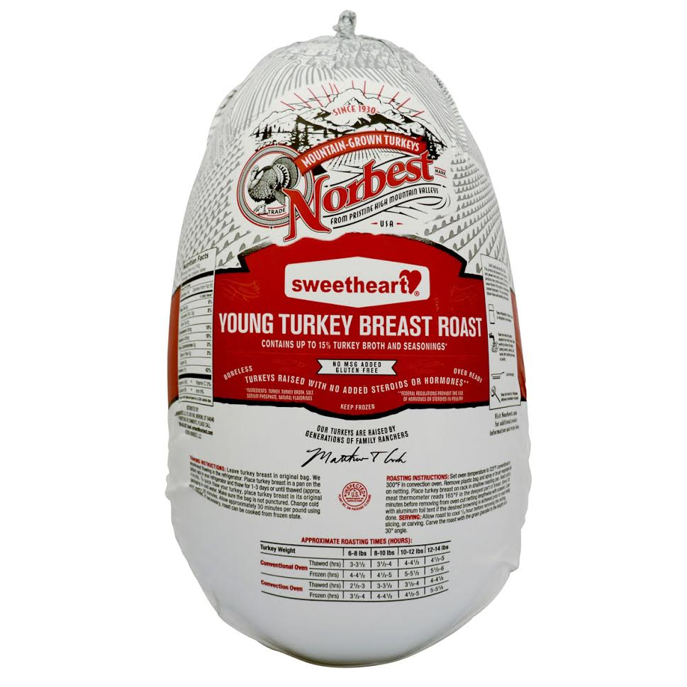 Norbest Sweetheart Turkey Breast, Boneless