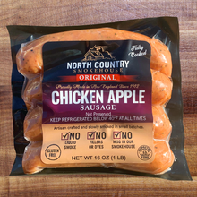 Load image into Gallery viewer, North Country Chicken Apple Sausage