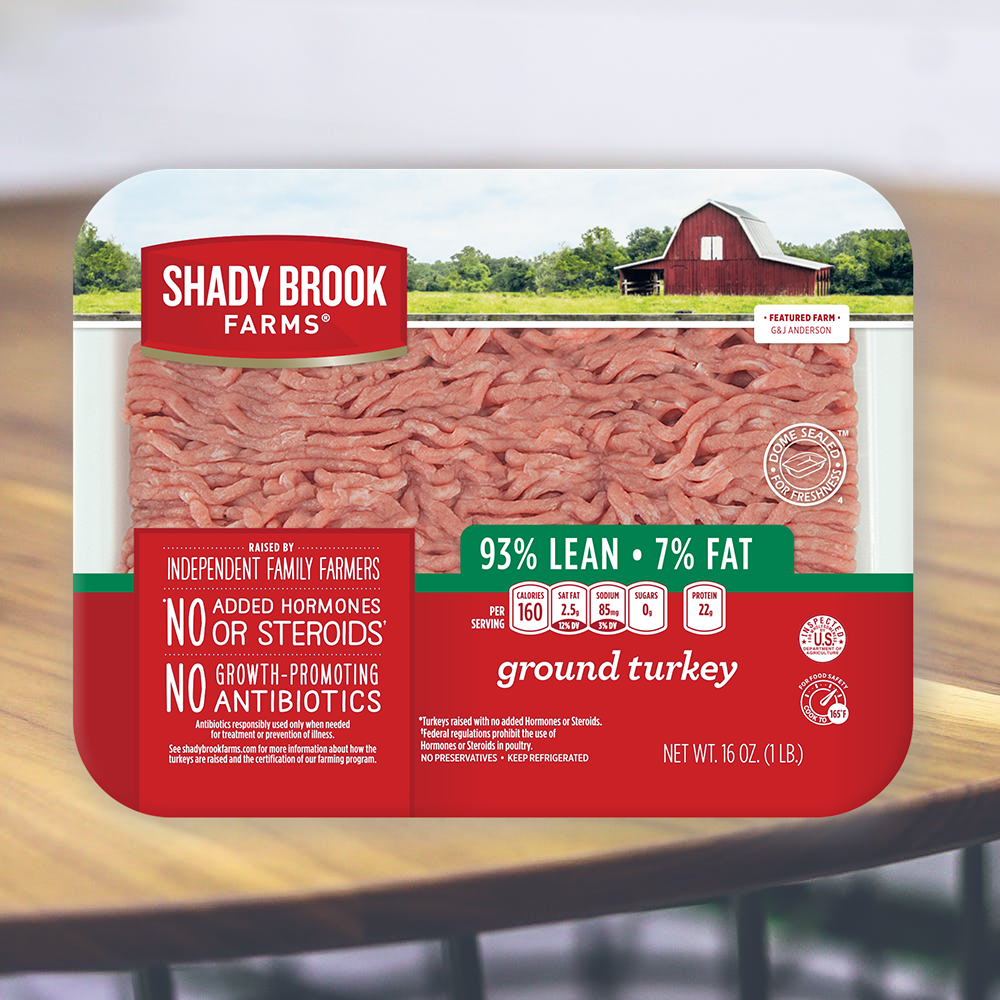 Shadybrook Fresh Ground Turkey