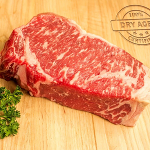 USDA Prime Dry Aged Boneless NY Strip Steak