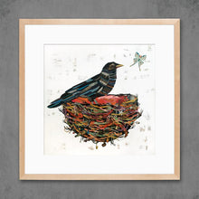 Load image into Gallery viewer, Dolan Geiman Signed Print Crow Moon