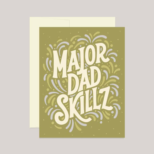 Major Dad Skillz Card