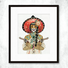 Load image into Gallery viewer, Dolan Geiman Signed Print Vaquera (Cactus)