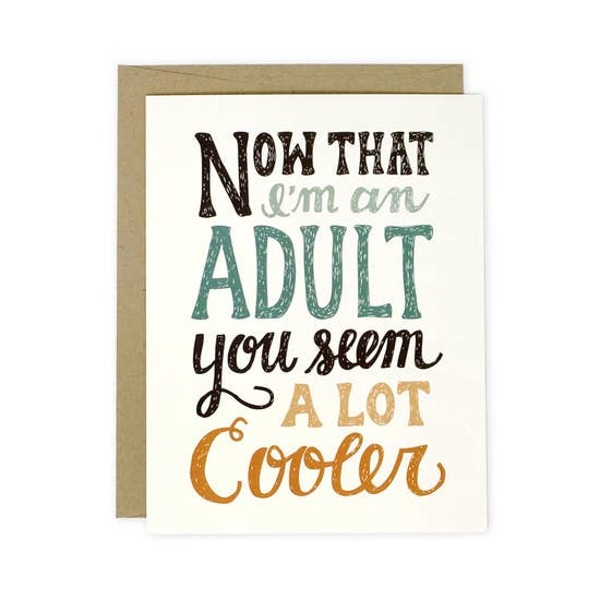 Cool Adult card