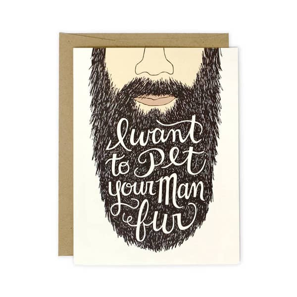 Man Fur card