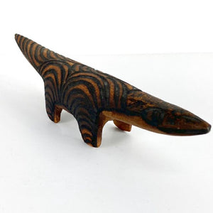 Carved Wooden Pangolin