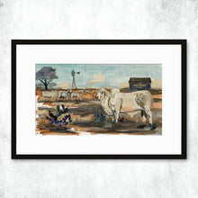 Load image into Gallery viewer, Dolan Geiman Signed Print Mail Pouch Brahman
