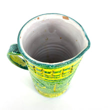 Load image into Gallery viewer, Italian Pottery Pitcher