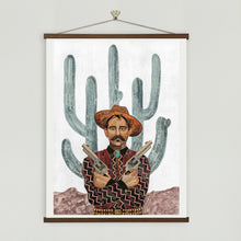 Load image into Gallery viewer, Dolan Geiman Signed Print Saguaro Cowboy