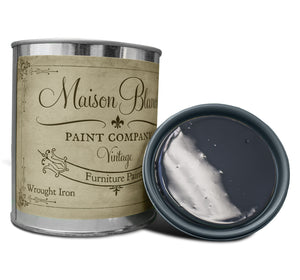Wrought Iron Chalk Based Paint