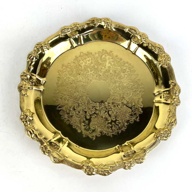 Ornate Brass Tray