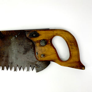 Vintage Hand Saw