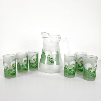 Calla Lily Pitcher Set
