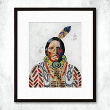 Load image into Gallery viewer, Dolan Geiman Signed Print American Heritage (Warrior)