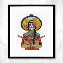 Load image into Gallery viewer, Dolan Geiman Signed Print Vaquera (Red)