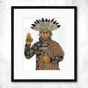 Dolan Geiman Signed Print Torch Bearer