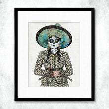 Load image into Gallery viewer, Dolan Geiman Signed Print Adelita (Gray)